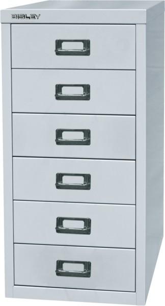 Bisley MultiDrawer, 29er Serie, L296, DIN A4, 6 Schubladen