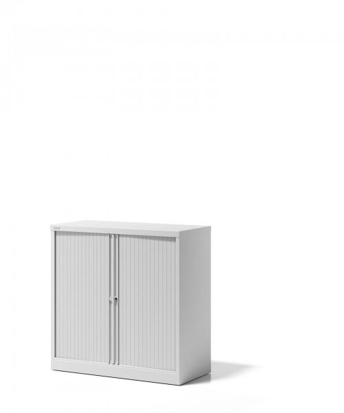 Bisley Rollladenschrank Essentials, YETB10101S, mit 1 Fachboden für 2 Ordnerhöhen
