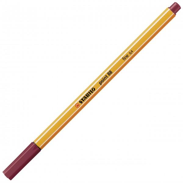 Fineliner - STABILO point 88 - purpur