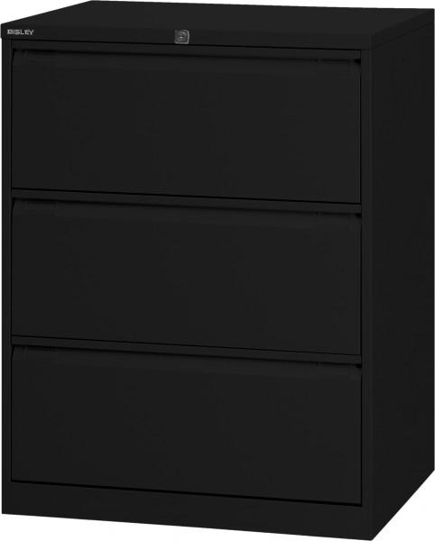 Bisley Hängeregistraturschrank DF3, doppelbahnig, DIN A4, 3 HR-Schubladen