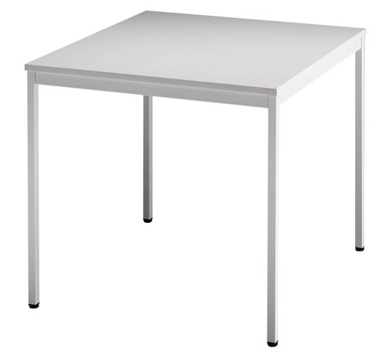 Meeting - Tischsystem V-Serie Füße eckig alle Maße, VVS08, VVS12, VVS16, VVT16, Höhe 72cm, Gestell l