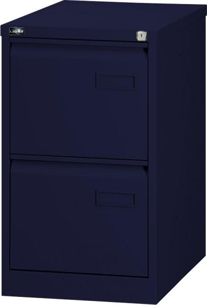 Bisley LIGHT Hängeregistraturschrank IPCCA12, einbahnig, DIN A4, 2 HR-Schubladen