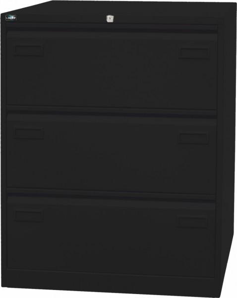 Bisley LIGHT Hängeregistraturschrank CDF3, doppelbahnig, DIN A4, 3 HR-Schubladen