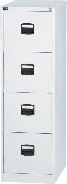 Bisley LIGHT Hängeregistraturschrank IPCCA14FF, einbahnig, DIN A4, 4 HR-Schubladen