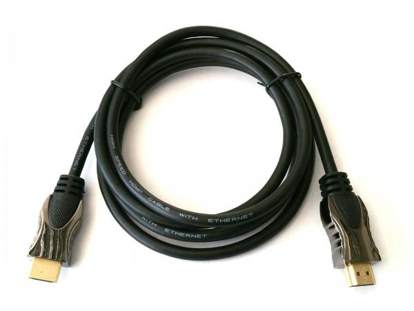 Reekin HDMI Kabel - 10,0 Meter - ULTRA 4K (High Speed with Ethernet)