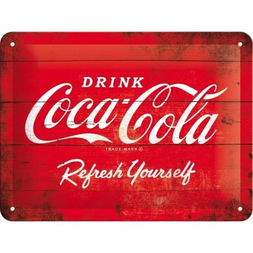 Coca-Cola - Logo Red Refresh Yourself