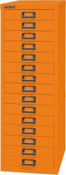 Bisley MultiDrawer, 39er Serie mit Sockel, L3915, DIN A4, 15 Schubladen