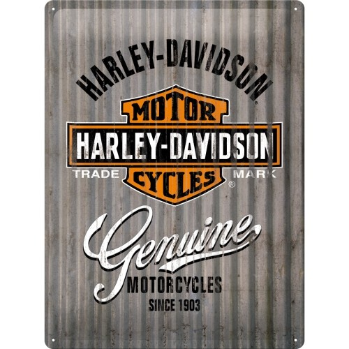 Harley-Davidson - Metal Wall