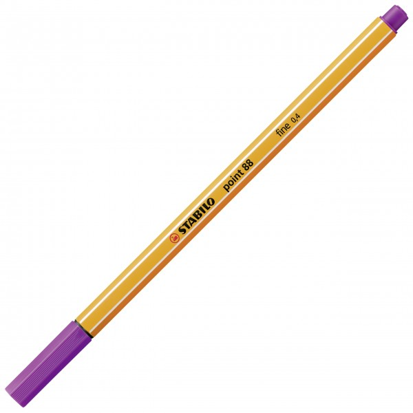 Fineliner - STABILO point 88 - lila