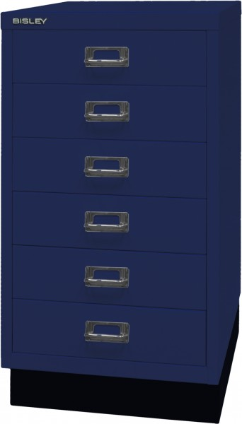 Bisley MultiDrawer, 29er Serie mit Sockel, L29A36S, DIN A3, 6 Schubladen