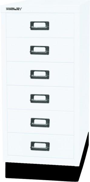 Bisley MultiDrawer, 29er Serie mit Sockel, L296S, DIN A4, 6 Schubladen