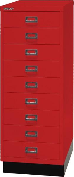 Bisley MultiDrawer, 39er Serie mit Sockel, L39A39S, DIN A3, 9 Schubladen
