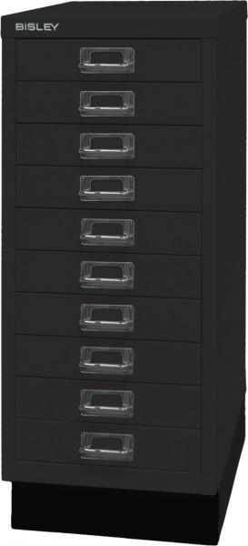 Bisley MultiDrawer, 29er Serie mit Sockel, L2910S, DIN A4, 10 Schubladen