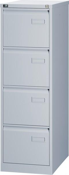 Bisley LIGHT Hängeregistraturschrank IPCCA14, einbahnig, DIN A4, 4 HR-Schubladen