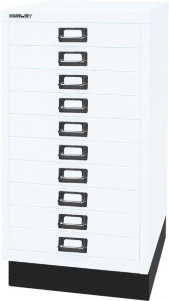 Bisley MultiDrawer, 29er Serie mit Sockel, L29A310S, DIN A3, 10 Schubladen