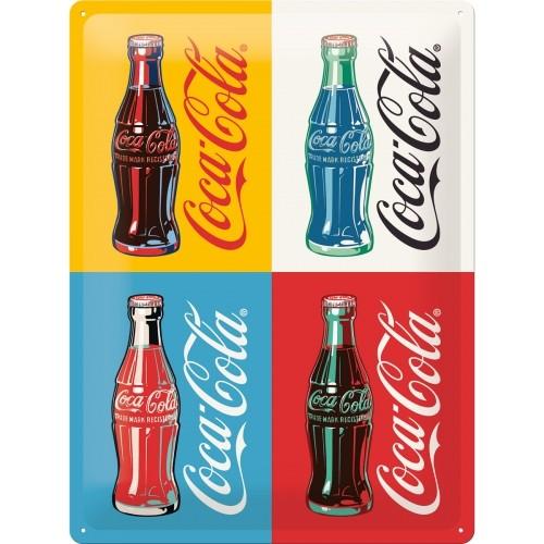 Coca-Cola - Four Bottles Pop Art Special Edition