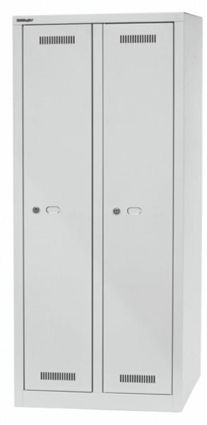 Bisley MonoBloc Garderobenschrank, ML06D1, 2 Abteile à B 300 mm, je 1 Fach