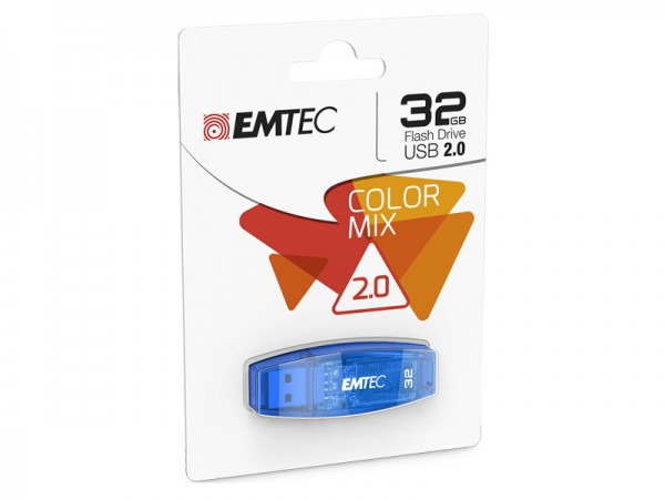 USB FlashDrive 32GB EMTEC C410 ( Blau ) USB 2.0