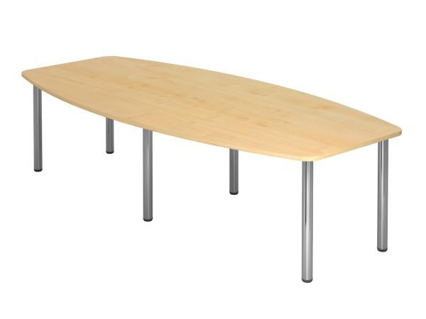 Meeting - Tischsystem KT-Serie mit Chromfüßen ,VKT28C, VKT22C Höhe 74cm, 6 oder 4 Füße in chrom