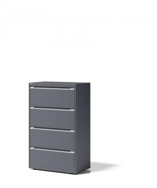 Bisley Schubladenschrank Essentials, YESF0813, 4 Schubladen à H 304 mm