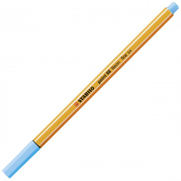 Fineliner - STABILO point 88 - neonblau