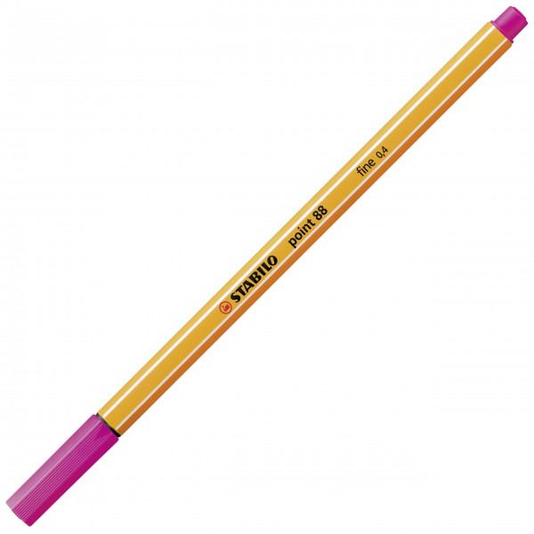 Fineliner - STABILO point 88 - pink