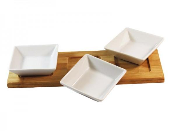 MK Bamboo MÜNCHEN - Dip-Schalen Set (4-teilig)