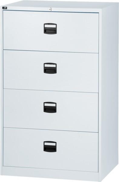 Bisley LIGHT Hängeregistraturschrank CDF4FF, doppelbahnig, DIN A4, 4 HR-Schubladen