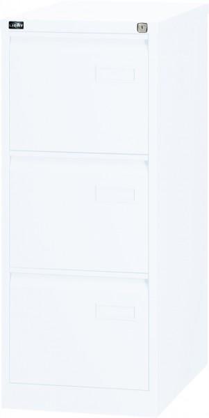Bisley LIGHT Hängeregistraturschrank IPCCA13, einbahnig, DIN A4, 3 HR-Schubladen