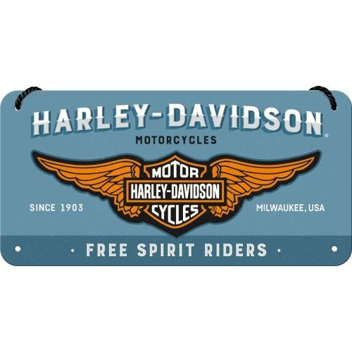 Harley-Davidson - Logo Blue