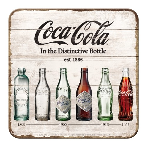 Coca-Cola - Bottle Timeline