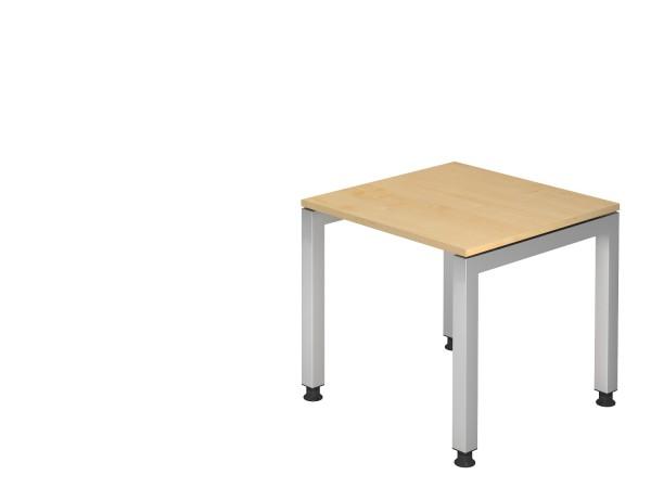 Schreibtischserie Jena alle Maße, VJS08,12,16,19,82,21/*, Höhe 68cm - 76cm, Gestell silber