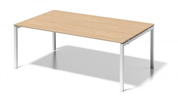 Bisley Cito, DUF2012, höhenfixes U - Gestell, Chefarbeitsplatz, Konferenztisch, 2000 x 1200 mm