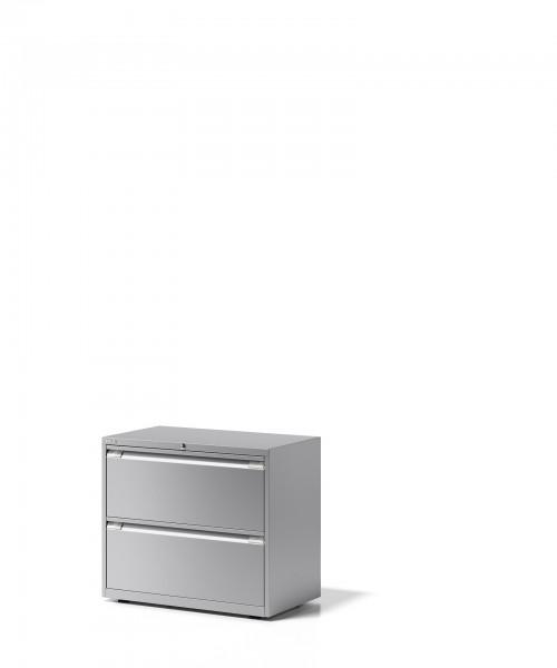 Bisley Schubladenschrank Essentials, YESF0807, 2 Schubladen à H 304 mm