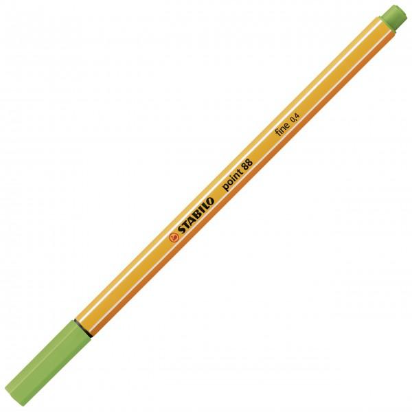 Fineliner - STABILO point 88 - apfelgrün