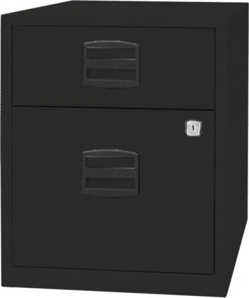 Mobiler Beistellschrank PFA, SOHO, PFAM1S1F, 1 Universalschublade, 1 HR-Schublade