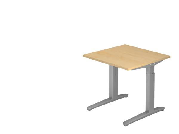 Schreibtischserie Xanten-B alle Maße, VXB08,12,16,19,2E,20, Höhe 65-85cm, Gestell-Kufen wahlweise