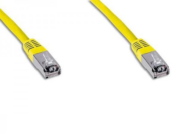 Digitus Netzwerkkabel CAT 6 S-FTP Patchkabel DK-1641-010/Y (1m gelb)