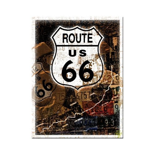 Route 66 Rost-Collage