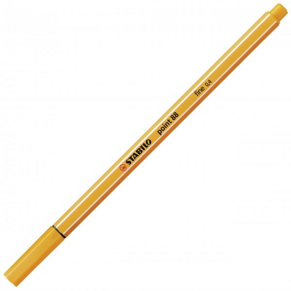 Fineliner - STABILO point 88 - orange
