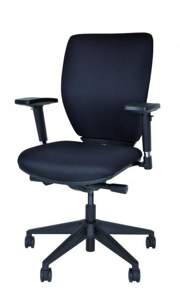 Bisley Bürodrehstuhl Optime, DSO733, Polster, Kunststofffußkreuz