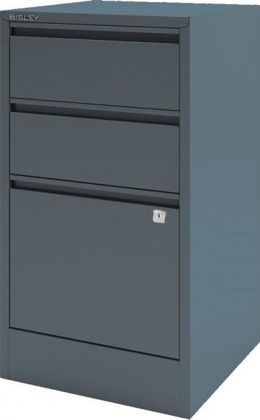 Bisley Home Filer mit Griffleiste, HF3, 2 Schübe, 1 HR Schub