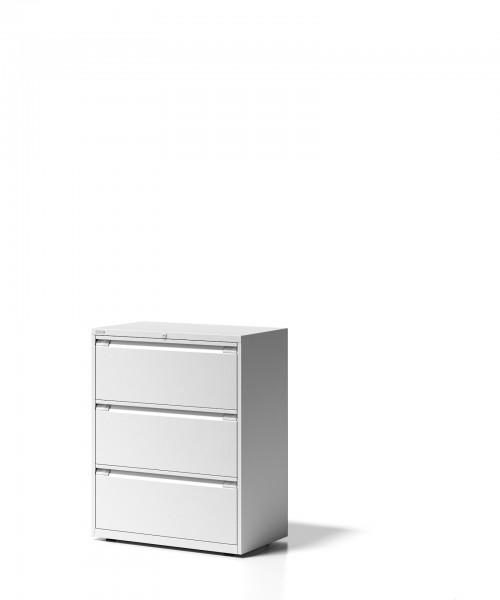 Bisley Schubladenschrank Essentials, YESF0810, 3 Schubladen à H 304 mm