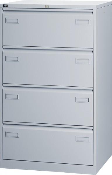 Bisley LIGHT Hängeregistraturschrank CDF4, doppelbahnig, DIN A4, 4 HR-Schubladen
