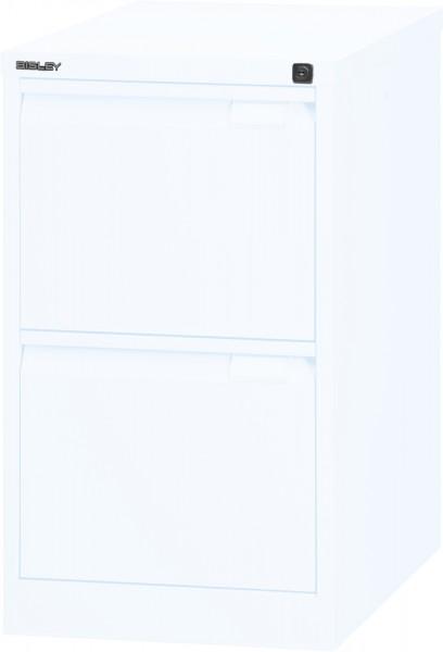 Bisley Hängeregistraturschrank 3623, einbahnig, DIN A4, 2 HR-Schubladen